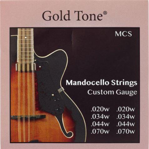 Gold Tone MCS - סט מיתרים למנדוצ'לו