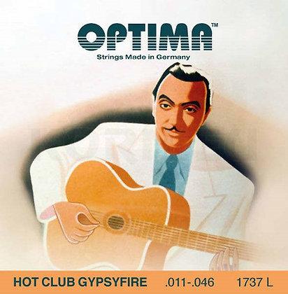 Optima Gypsyfire מיתרים לגיטרה גי'פסי ג'אז