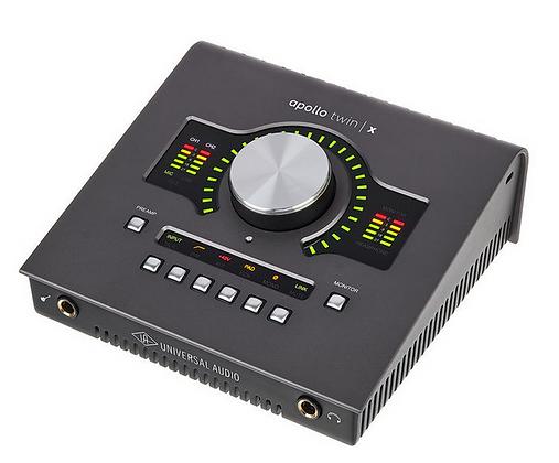 Universal Audio Apollo Twin X Quad ממשק הקלטה