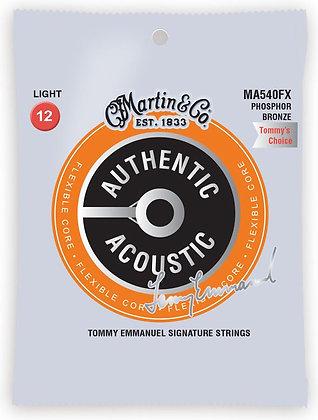 Martin Flexible Core Tommy Emmanuel מיתרים לגיטרה אקוסטית