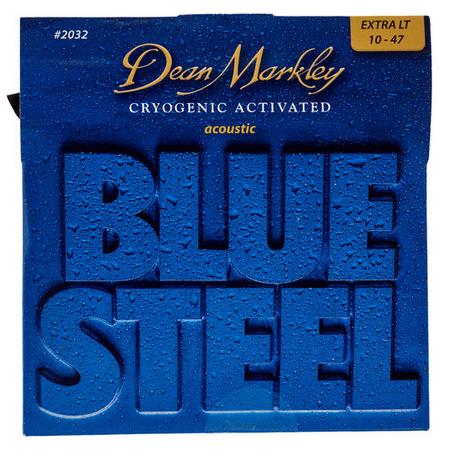 Dean Markley Blue Steel מיתרים לגיטרה אקוסטית