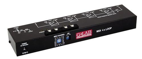 G-LAB MIDI 4x Looper