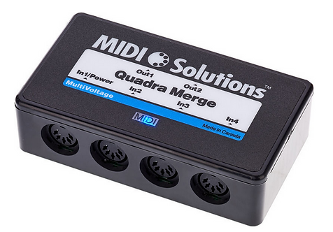 MIDI Solutions Quadra Merge V2