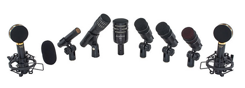 Audix Studio Elite 8 סט מיקרופונים לתופים