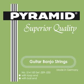 Pyramid  מיתרים לבנג'ו גיטרה