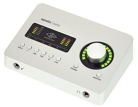 Universal Audio Apollo Solo USB ממשק הקלטה