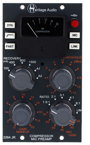 Heritage Audio 2264 Jr. פרהאמפ וקומפרסור