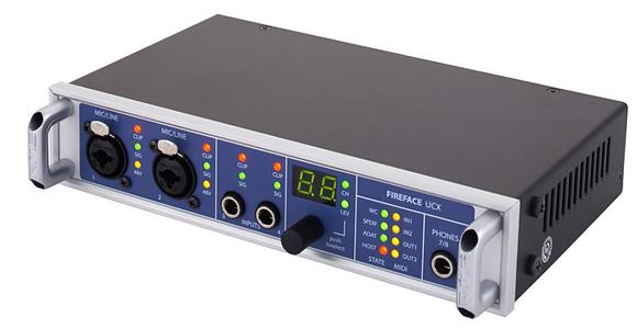 RME Fireface UCX ממשק הקלטה