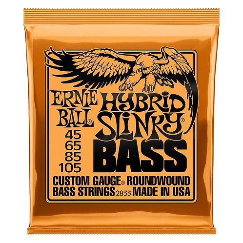 Ernie Ball 2833 Hybrid Slinky Nickel Wound Bass 45-105 מיתרים לגיטרה באס