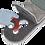 Neotech  End Pin Jack - רצועה מקצועית ננעלת לכלי אקוסטי