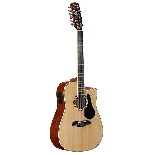 גיטרה אקוסטית 12 מיתרים Alvarez AD60-12CE