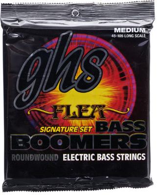 GHS M 3045 F Flea סט מיתרים לגיטרה באס