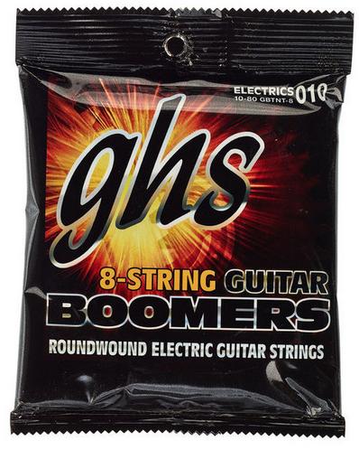 GHS Boomers Thin n Thick סט מיתרים לגיטרה חשמלית 8 מיתרים