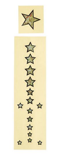 Jockomo מדבקות כוכבים לפרטבורד