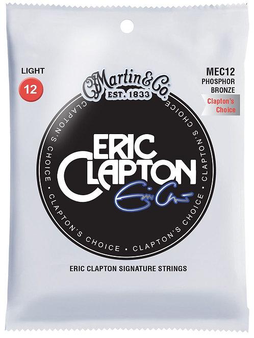 Martin Eric Clapton מיתרים לגיטרה אקוסטית