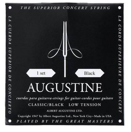 Augustine Concert Black מיתרים לגיטרה קלאסית