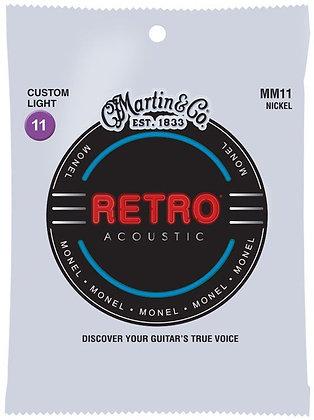 Martin Retro  מיתרים לגיטרה אקוסטית