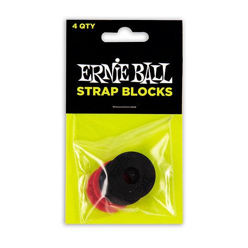 Ernie Ball Strap Blocks רבעיית טבעות לנעילת רצועה