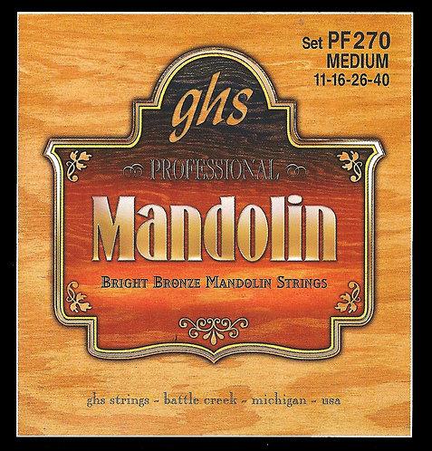 GHS PF270 סט מיתרים למנדולינה