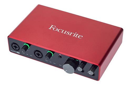 Focusrite Scarlett 8i6 3rd Gen ממשק הקלטה