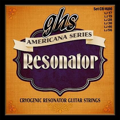 GHS Americana מיתרים לגיטרה רזונייטור