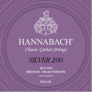 Hannabach 900 MHT Silver 200 מיתרים לגיטרה קלאסית