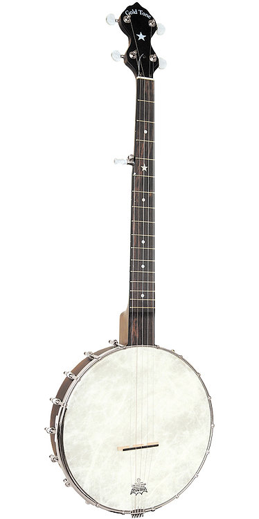 Gold Tone CC-OT: Cripple Creek Banjo Clawhammer Package