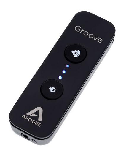 Apogee Groove שלט ןמגבר אוזניות