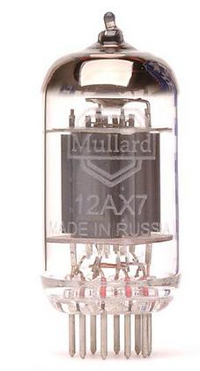 Mullard 12AX7/ECC83 מנורת
