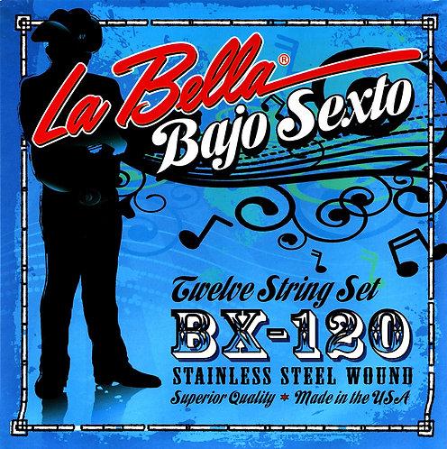 La Bella BX1020 מיתרים לבאחו סקסטו מקסיקני