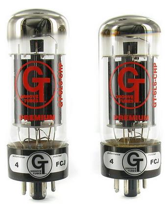 Groove Tubes 6L6-CHP זוג מנורות