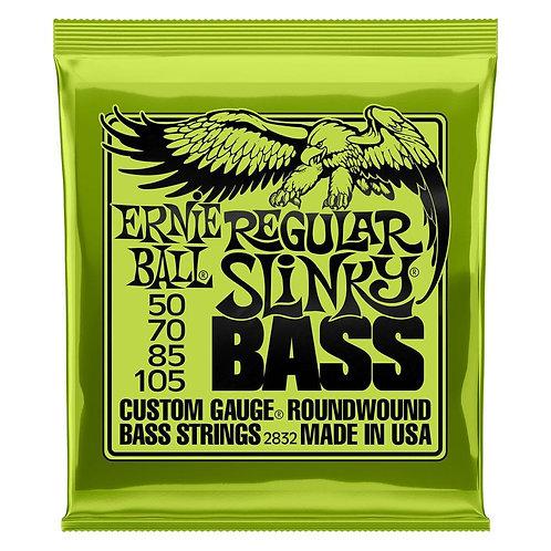 סט מיתרים לגיטרה בס Ernie Ball 2832 Regular Slinky Nickel Wound 50-105