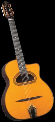 Gitane DG-500 גיטרת ג'יפסי ג'אז מקצועית