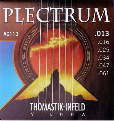 Thomastik Plectrum מיתרים לגיטרה אקוסטית