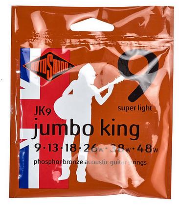 Rotosound Jumbo King מיתרים לגיטרה אקוסטית