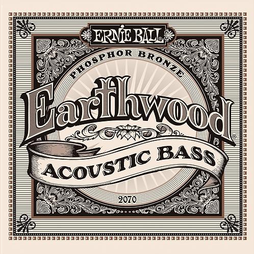 סט מיתרים לגיטרה בס אקוסטית Ernie Ball 2070 Earthwood 45-95