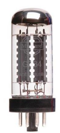 Mullard GZ34/5AR4 מנורת רקטייפיר