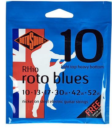 Rotosound RH10 Roto Blues מיתרים לגיטרה חשמלית