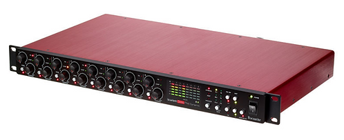 Focusrite Scarlett OctoPre Dynamic פרהאמפ