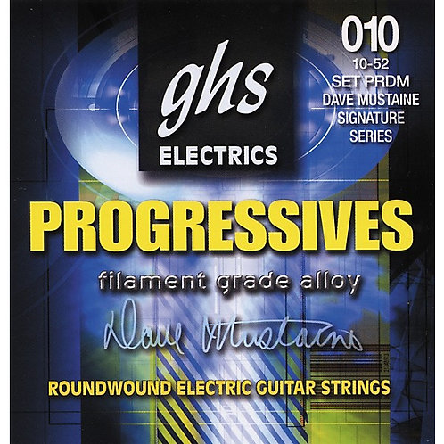 GHS PRDM Dave Mustaine סט מיתרים לגיטרה חשמלית