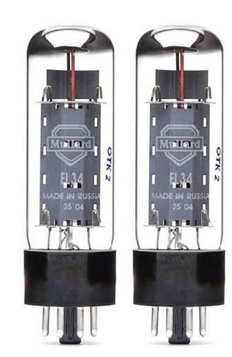 Mullard EL34 זוג מנורות