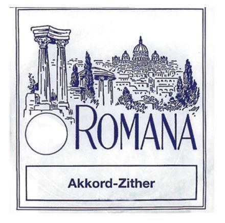 Romana Akkordzither סט מיתרי אקורד