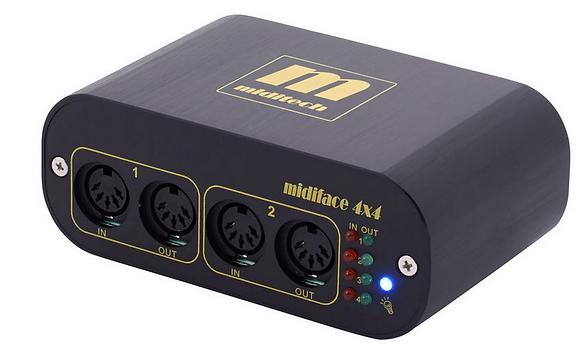 Miditech MIDIface 4x4 ממשק מידי