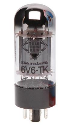 Telefunken Black Diamond 6V6 מנורת