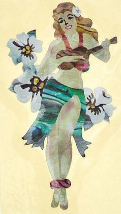 Jockomo מדבקת רקדנית הולה