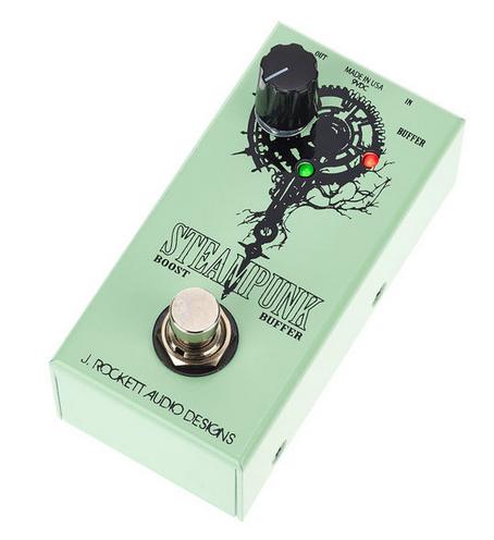 J. Rockett Audio Designs Steampunk פדאל בוסטר