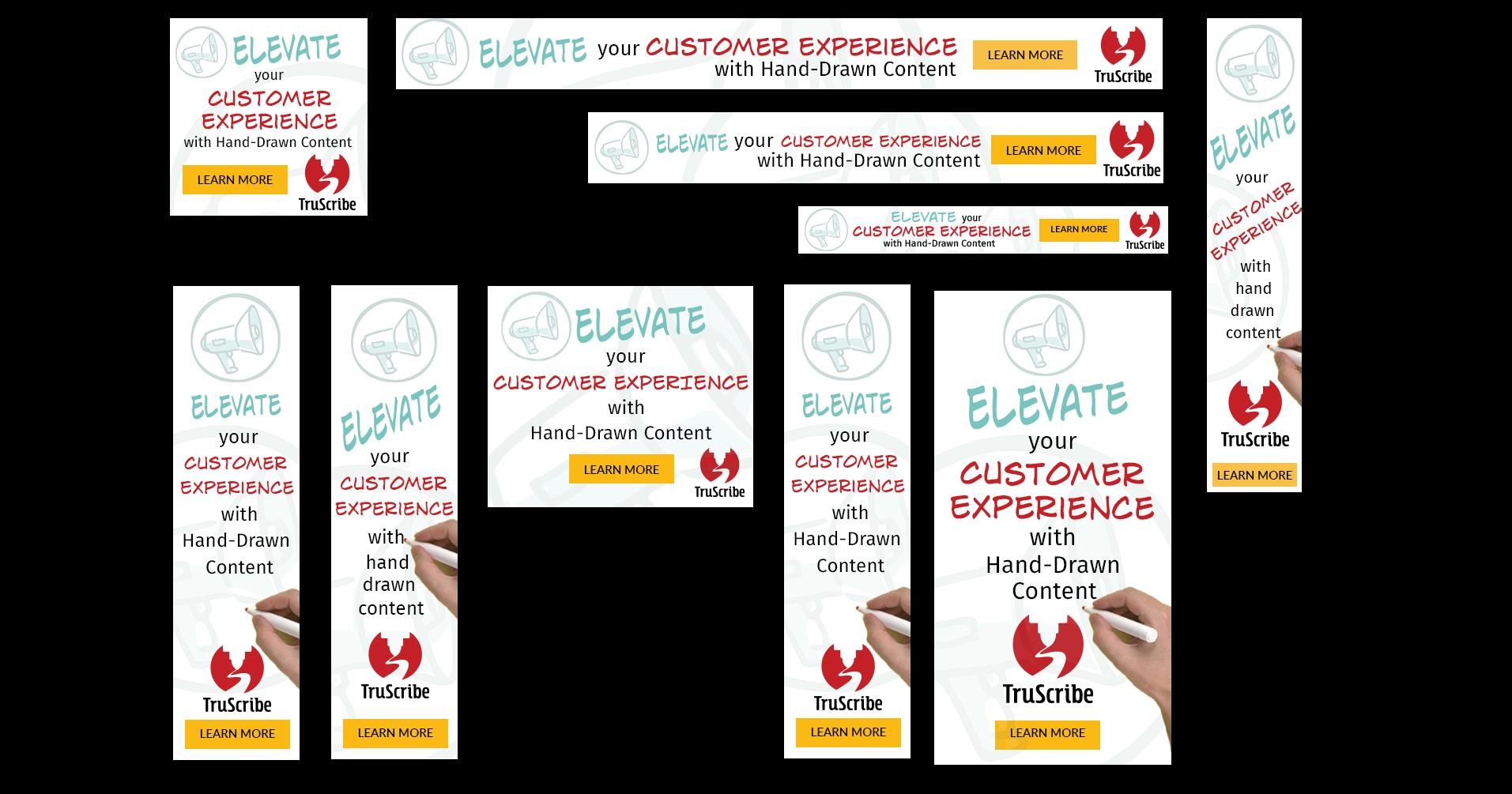 Customer Experience mockup