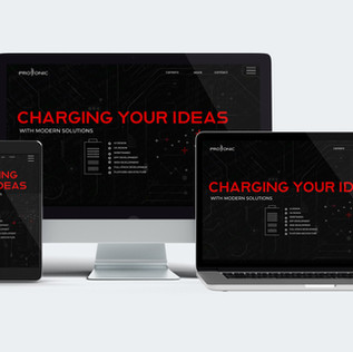 PROTONIC UI, WEB DESIGN