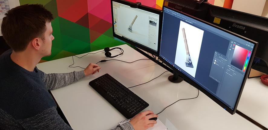 GSA Razor Handles Design CAD