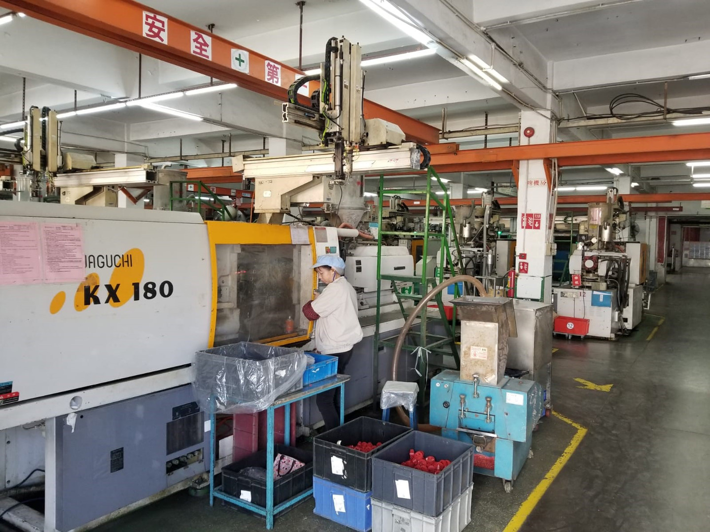 Plastic Injection Department